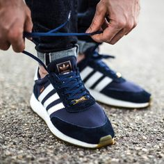 watch 648f3 632fb Adidas Iniki Runner Boost - Collegiate Navy - 2017 (by Sole Trees makes  shoe trees designed solely for the makeup of tennis shoes