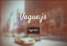 jQuery Vague is a fancy and cross-browser jQuery plugin that takes advantage of SVG filters to blur any html elements of your page. Blur, Filters, Place Card Holders, Fancy