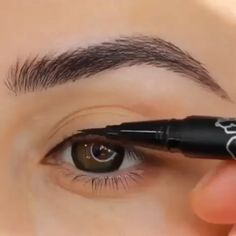 [New] The 10 Best Eye Makeup Today (with Pictures) - Beauty of eyes with eyeliner It's Girly . Edgy Makeup, Makeup Eye Looks, Eye Makeup Steps, Eye Makeup Art, Natural Eye Makeup, Makeup For Brown Eyes, Smokey Eye Makeup, Cute Makeup, Skin Makeup