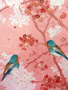 Chris Chun 'Cherry Blossom Lovers'