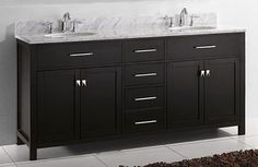 10 Most Stylish Bathroom Vanities Ideas to Complete Your House (Your Bathroom Is Not Perfect Without These!) - Best Home Remodel Discount Bathroom Vanities, Bathroom Vanity Units, Small Bathroom Vanities, Cheap Bathrooms, Single Bathroom Vanity, Closet World, Lavatory Design, Pink Vanity, Vanity Shelves