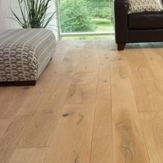 Solid Wood Flooring - Raw UV Oiled.