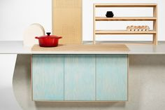 Living in a shoebox | New kitchen island concept by Raw-Edges and Caesarstone