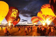 Albuquerque Balloon Festival 2013 | Night Balloon Festival
