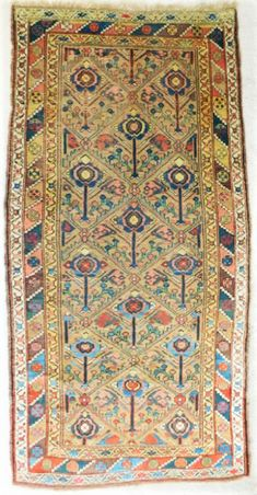 An attractive antique Caucasian rug with floral pattern. Carpet Runner, Rug Runner, Where To Buy Carpet, Dark Carpet, Cheap Rugs, Cool Rugs, Patterned Carpet, Grey Rugs, Woven Rug