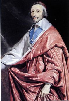 The actual Cardinal Richelieu