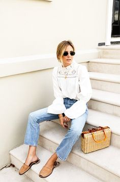 Fresh Way to Wear Jeans