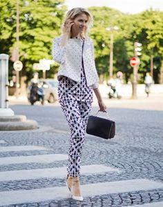 Street Style : Harper's BAZAAR