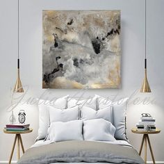 Art Print on Canvas of Original Watercolor Abstract Landscape Series with Gold Leaf Paintings by Julia Apostolova  Title of the Original Painting: Milky Way  THIS PRINT COMES UNSTRETCHED OR STRETCHED, depends of your choice. Will come to your home at protective tube or custom boxes, with tracking number, USPS mail priority  May be hang either vertical or horizontal.  The Print Options are: 1 - No wrap (Unstretched) Comes Rolled In A Tube in your home, with an extra 2.3 white border for frame…