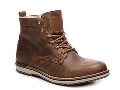 Men Bullboxer Gelos Boot -Brown - Tap the link to shop on our official online store! You can also join our affiliate and/or rewards programs for FREE! Rugged Style, Man Style, Mode Masculine, Sneakers Mode, Sneakers Fashion, Mens Boots Fashion, Fashion Edgy, Fashion Fall, Fashion Vest