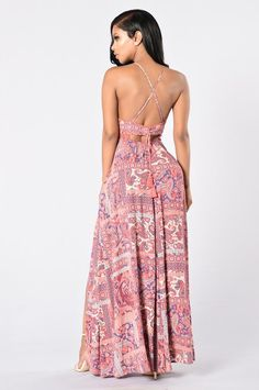 4b7829ea78 Going Somewhere  Maxi Dress - Pink