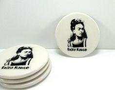 Ceramic coasters drink coasters coaster set by nazsCERAMICS