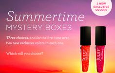 Julep Summertime Mystery Boxes - Available Now!