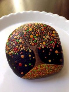 Creative ideas for painted rocks for garden 07
