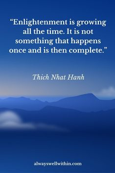 Wisdom Quotes : QUOTATION - Image : As the quote says - Description The best quotes from Thich Nhat Hanh on peace, love, + wisdom. Thich Nhat Hanh, Meditation Quotes, Daily Meditation, Spiritual Meditation, Mindfulness Meditation, Spiritual Wisdom, Spiritual Awakening, Spirituality Art, Spiritual Path