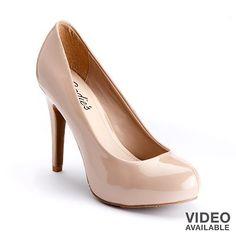 ooo id reallylike some nice nude heels Candie's High Heels - Juniors