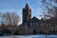 HDR of Altgeld Hall by Ray Cunningham, via Flickr