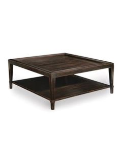 Bastille Table, Square Cocktail Table - Coffee, Console & End Tables - furniture - Macy's Large Square Coffee Table, Solid Wood Coffee Table, Lift Top Coffee Table, Cool Coffee Tables, Coffe Table, Square Tables, Coffee Table With Storage, Coffee Table Furniture, Living Room Furniture