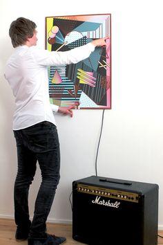 Sound Poster 1.0 on Behance