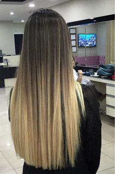 Blonde Ombre Hair, Brown Ombre Hair, Blonde Hair With Highlights, Ombre Hair Color, Hair Color Balayage, Brown Hair Colors, Queen Hair, Haircuts For Long Hair, Light Hair