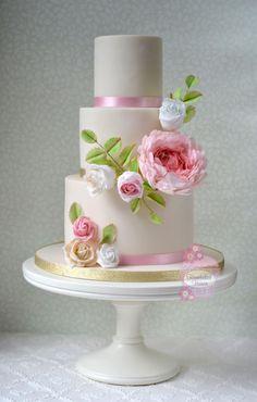 Payal by HomebakedHeaven - http://cakesdecor.com/cakes/250557-payal