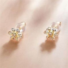 Wholesale Silver Jewelry, Sterling Silver Earrings, Plating, Romantic, Floral, Gold, Flowers, Romance Movies, Romantic Things