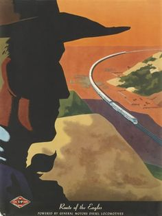 Bern Hill (1911 - 1977) Titre :     Route of the eagles , vers 1950 - 1959
