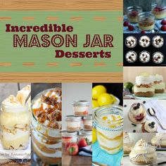 9 Incredible Mason Jar Dessert Recipes   Dreaming of Leaving (scheduled via http://www.tailwindapp.com?utm_source=pinterest&utm_medium=twpin&utm_content=post27405446&utm_campaign=scheduler_attribution)