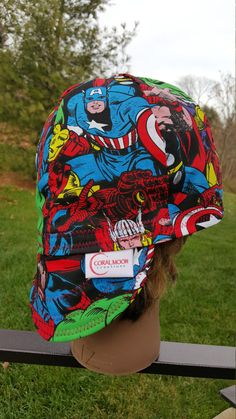 Hey, I found this really awesome Etsy listing at https://www.etsy.com/listing/260684795/avengers-welding-cap-baseball-hat-helmet