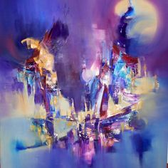 """""""En ocasión de un sueño"""" - Silvia Hilerowicz - Oleo sobre tela - 80 x 70 cm  www.esencialismo.com"""