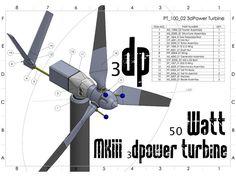 printer design printer projects printer diy Printer Printer MKIII 50 Watt printable Wind Turbine by - Thingiverse yo. Diy 3d, 3d Printing Diy, 3d Printed Objects, 3d Printer Designs, 3d Modelle, 3d Printing Technology, Stepper Motor, 3d Prints, Wind Power
