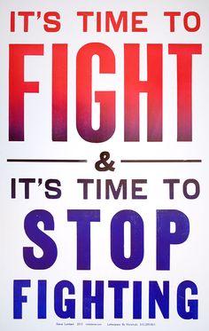 It's Time to Fight - Steve Lambert