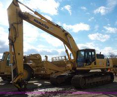 J4561.JPG - 2008 Komatsu PC400LC 8 excavator , 6,782 hours on meter , Komatsu SAA6D125E 5 11 045L six cylinder t...