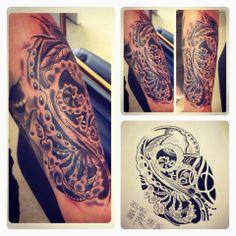 Bio Tattoo made by Tammie