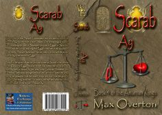 The Amarnan Kings Series Book 4: Scarab - Ay by Max Overton (Historical: Ancient Egypt)