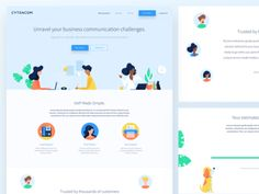 Landing Page Web Page
