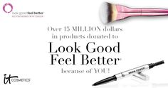 Learn more about IT Cosmetics' partnership with Look Good Feel Better to help women face the effects of cancer with confidence. #entry