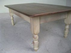 Found It At Wayfair Artists Originals Console Table In - Cream distressed dining table
