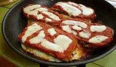A low fat eggplant recipe, that is delicious while not being greasy. Eggplant Lasagna is just 325 calories per serving. Eggplant Lasagna, Veggie Lasagna, Eggplant Recipes, Soups, Salads, Favorite Recipes, Snacks, Meals, Vegetables