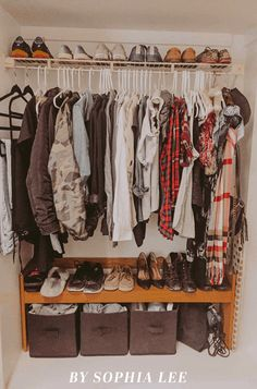 organization dorm closet