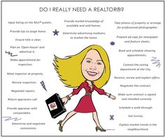 I met a woman last week that was trying (unsuccessfully) to sell her home. I began to explain what a realtor can do for her and she was stunned. She honestly believed that realtors just put a sign up...
