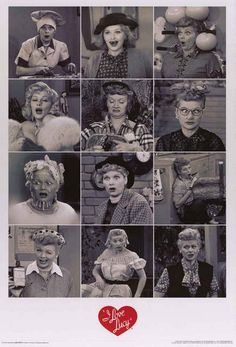A great I Love Lucy poster showing why Lucille Ball is one of the funniest people of all-time! Classic TV at its finest. Fully licensed. Ships fast. 24x36 inches. Need Poster Mounts..? nmr241087
