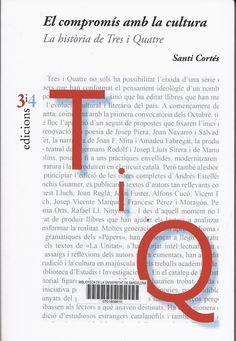 Santi Cortés. El compromís amb la cultura : la història de Tres i Quatre. València : Tres i Quatre, 2014. 318 p. #CRAIBibrepublica #novetatsCRAIBibrepublica #novetatsBibrep_abril15 #CRAIUB