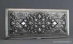Persian silver box isfahan RAV