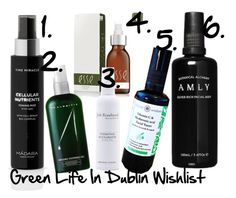"""""""Green Life In Dublin Toner And Mist Wishlist"""" by green-life-in-dublin on Polyvore featuring beauty, Esse and Madara"""