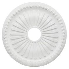 Ceiling medallions for the entry & dining lights!
