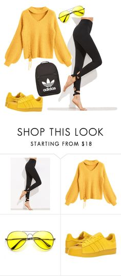 """""""Untitled #197"""" by itsayak on Polyvore featuring adidas Originals and adidas"""