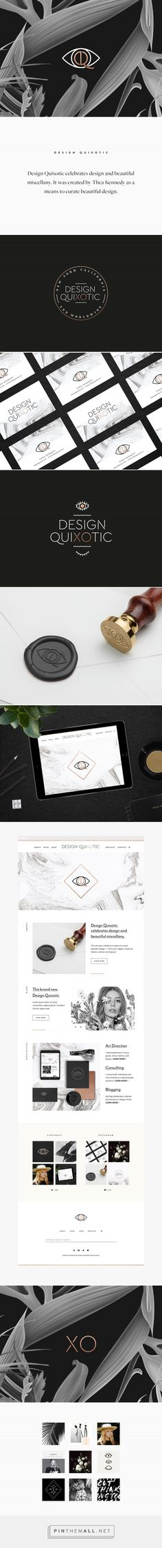 Design Quixotic Branding by We Are Branch | Fivestar Branding Agency – Design and Branding Agency & Curated Inspiration Gallery