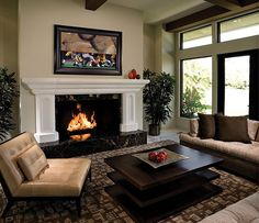 Living Room beautyful-small-living-room-design-2014-with-comfy-brown-sofa-and-comfy-brown-decorative-carpet-and-charming-white-fireplace-mantels-also-beautiful-indoor-plants-ideas Elegant Living Room Design 2015 and Interior Decoration Ideas