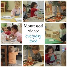 Montessori video: everyday food